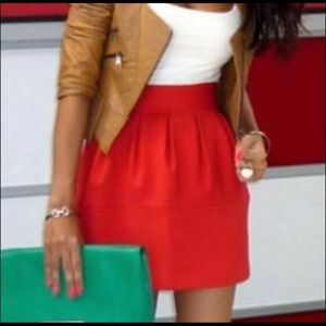 Zara tulip skirt with pockets